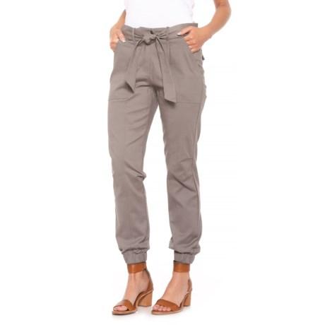 Fever Tied Pants (For Women) in Cloudburst