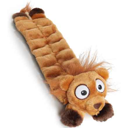 FF&CO Squeaker Mat Dog Toy in Lion - Closeouts