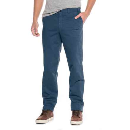 FHP by Hiltl Dero Chino Pants (For Men) in Dark Blue - Closeouts