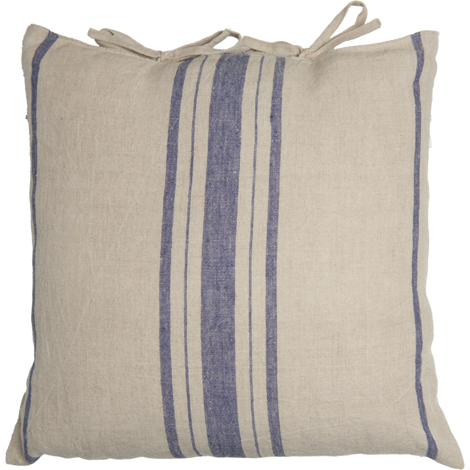 Outstanding Fiddle Fern Linen Yarn Dyed Striped Throw Pillow 18X18 Gmtry Best Dining Table And Chair Ideas Images Gmtryco