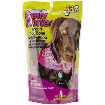 Fido Belly Bone Yogurt Dental Dog Treats - Large, 4-Pack in See Photo - Closeouts