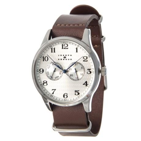Field Watch - Leather Strap (For Men)