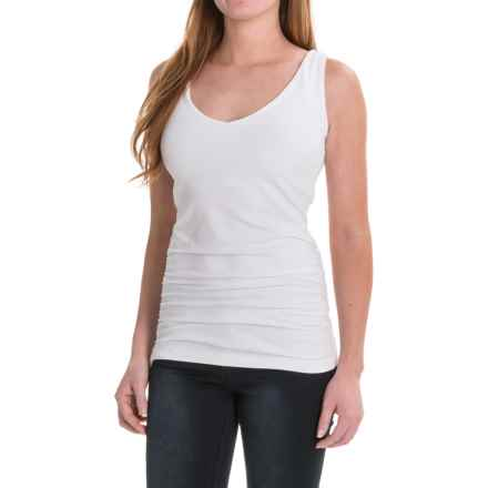 FIG Clothing Clothing Port Moresby Tank Top - UPF 50, Built-In Bra (For Women) in White - Closeouts