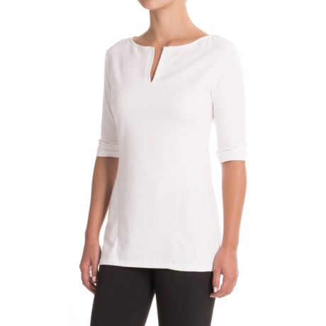 FIG Clothing Concepcion Shirt - UPF 50, Boat Neck, 3/4 Sleeve (For Women)