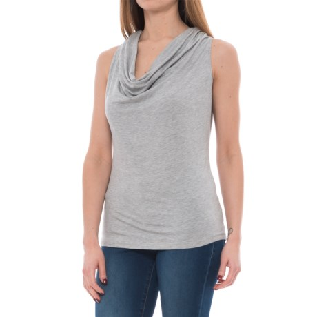 FIG Clothing Luv Shirt - UPF 25, Sleeveless (For Women) in Mistral