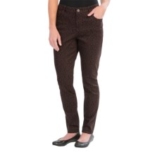 Figure-Shaping Skinny Jeans (For Women) in Dark Leopard - Closeouts