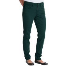Figure-Shaping Skinny Jeans (For Women) in Forest Green - Closeouts