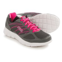 Fila 3A Capacity Running Shoes (For Women) in Dark Silver/Knockout Pink/Black - Closeouts