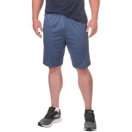 Fila Apex Shorts (For Men) in Navy Heather/Grey Heather/Grey Heather - Closeouts