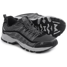 Fila At Peake Trail Running Shoes (For Men) in Castlerock/Hirise/Black - Closeouts