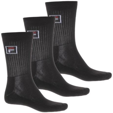 dd3b4b84c Fila Box Logo Cushion Socks (For Men) - Save 33%