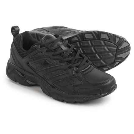 Fila Capture Running Shoes (For Men) in Triple Black - Closeouts