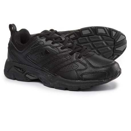 Fila Capture Running Shoes (For Men) in Triple Black
