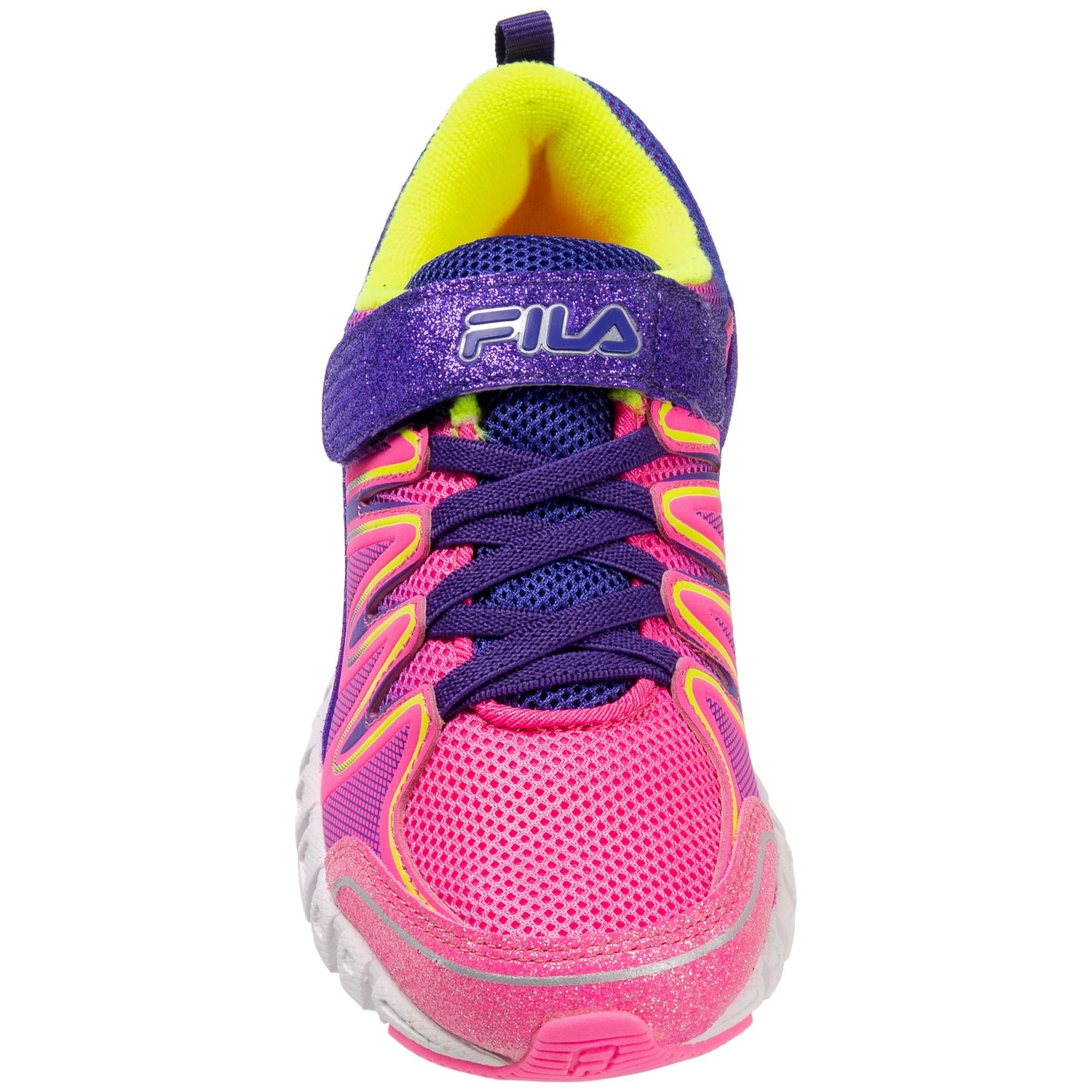 7f95b3d4b438 Fila Crater 4 Strap Glitter Running Shoes (For Little and Big Girls ...