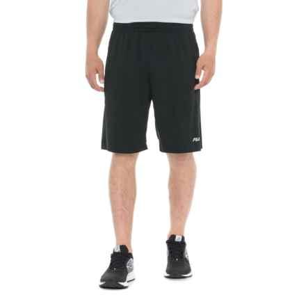 Fila Cruiser Shorts (For Men) in Black/Black - Closeouts