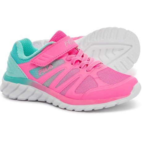 757b2b8e6fbe Fila Cryptonic 3 Running Shoes (For Girls) in Sugar Plum Aruba Blue