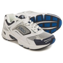 Fila Decimus 3 Cross-Training Shoes (For Men) in Metallic Silver/White/Navy - Closeouts