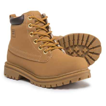 Fila Edgewater 12 Boots (For Boys) in Wheat/Gum - Closeouts