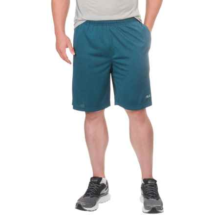 Fila Element Shorts (For Men) in Sea Heather/Grey Heather - Closeouts