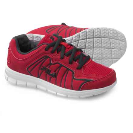 Fila Escalight Running Shoes (For Little and Big Kids) in Red/Navy/White - Closeouts