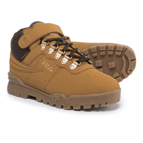 Fila F-13 Weathertech Boots (For Boys) in Wheat