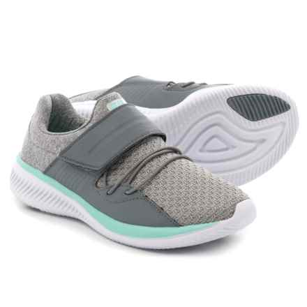 Fila Fondato 2 Running Shoes (For Girls) in Gray/Aruba Blue/White - Closeouts
