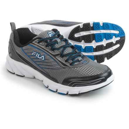 Fila Forward 2 Running Shoes (For Men) in Dark Silver/Black/Prince Blue - Closeouts