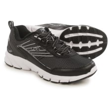 Fila Forward 3 Running Shoes (For Men) in Black/Black/Metallic Silver - Closeouts