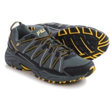 Fila Headway 4 Trail Running Shoes (For Men) in Castlerock/Black/Gold Fusion - Closeouts