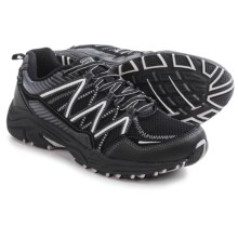 Fila Headway 6 Trail Running Shoes (For Men) in Black/Black/Metallic Silver - Closeouts