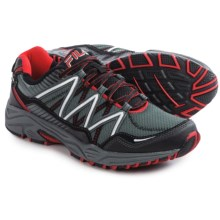 Fila Headway 6 Trail Running Shoes (For Men) in Castlerock/Black/Fila Red - Closeouts