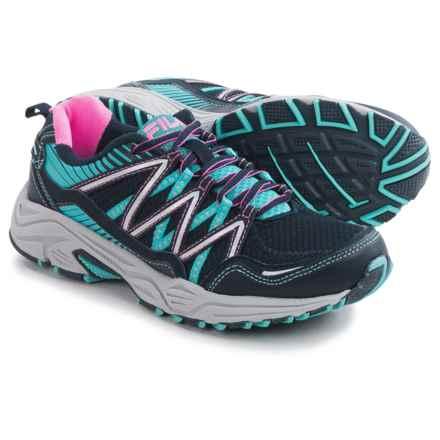 Fila Headway 6 Trail Running Shoes (For Women) in Fila Navy/Blue Fish/Sugarplum - Closeouts