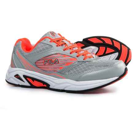 Fila Inspell 3 Running Shoes (For Women) in Highrise/Fiery Coral/Black - Closeouts