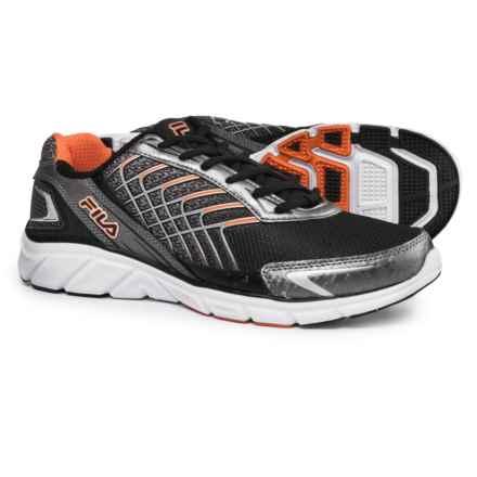 Fila Memory Core Callibration 3 Cross Training Shoes (For Men) in Black/Dark Silver/Vibrant Orange - Closeouts