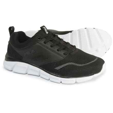 Fila Memory Primary NSO Cross-Training Shoes (For Women) in Black/Black/White - Closeouts