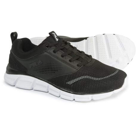Fila Memory Primary NSO Cross-Training Shoes (For Women) in Black/Black/White