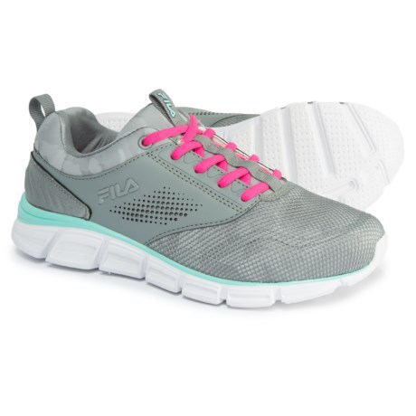 Fila Memory Primary NSO Cross-Training Shoes (For Women) in Monument/Hirise/Aruba Blue
