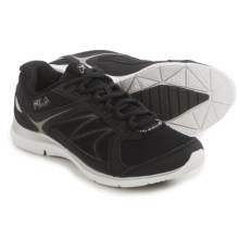 Fila Memory Resilient 2 Cross-Training Shoes (For Women) in Black/Black/Metallic Silver - Closeouts