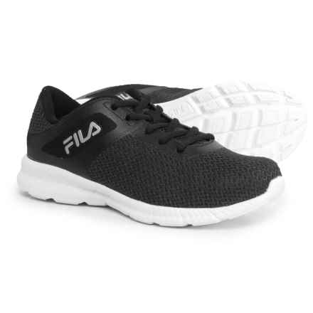 Fila Memory Skip Training Shoes (For Women) in Black/Metalic Silver/White - Closeouts