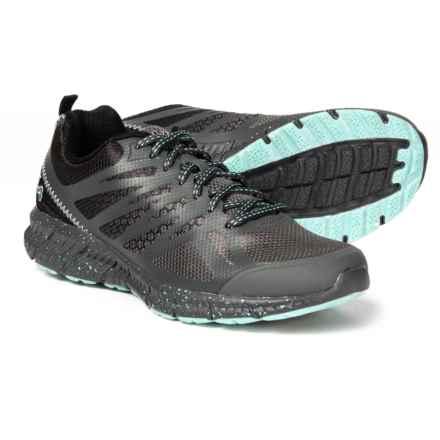 23d6266cdfe7 Fila Memory Speedstride Trail Running Shoes (For Women) in Dark  Shadow Black