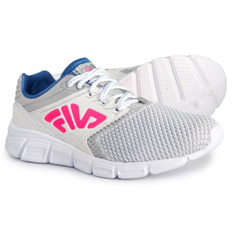 Fila Multiswift 2 Running Shoes (For Girls) in White Highrise Wedgewood 88bbb8fce088