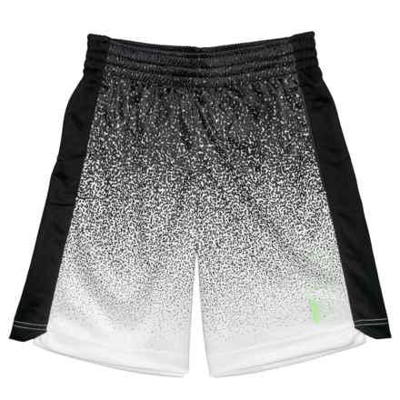 Fila Ombre Dazzle Shorts (For Big Boys) in Black - Closeouts