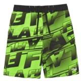 Fila Point Logo Boardshorts (For Boys)