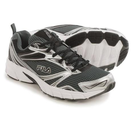 Fila Royalty Running Shoes (For Men) in Castlerock/Metallic Silver/Black