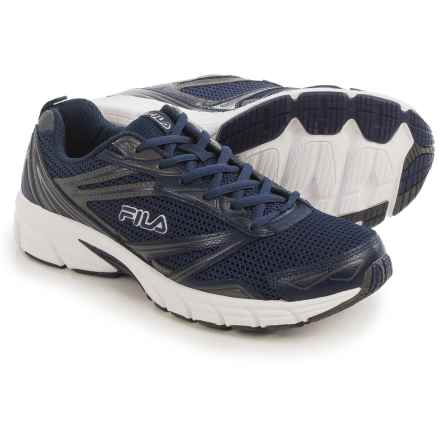 Fila Royalty Running Shoes (For Men) in Navy/Castlerock/White - Closeouts