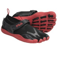 Fila Skele-Toes EZ Slide Water Shoes (For Men) in Black/Chinese Red - Closeouts
