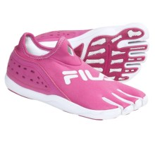 Fila Skele-Toes Trifit Water Shoes (For Women) in Raspberry/White - Closeouts