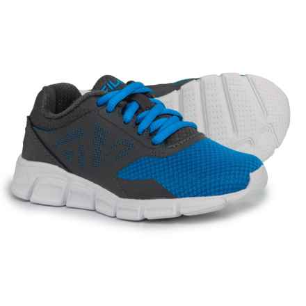 Fila Skyspan Running Shoes (For Boys) in Prince Blue/Dark Shadow/White - Closeouts