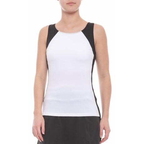 4adaf691beffe0 Fila Sleek Streak Racerback Tank Top - UPF 30+ (For Women) in White