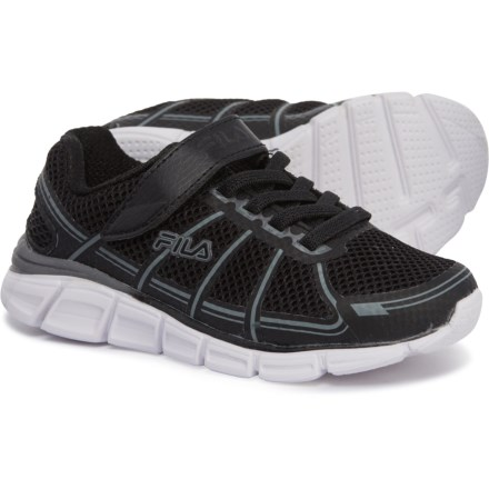 f95f67c216d4 Fila Speedglide 3 Running Shoes (For Boys) in Black Dark Silver White